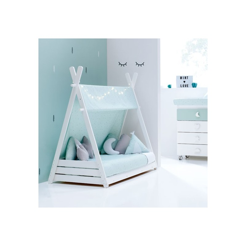 Cama Montessori Homy Alondra Mint