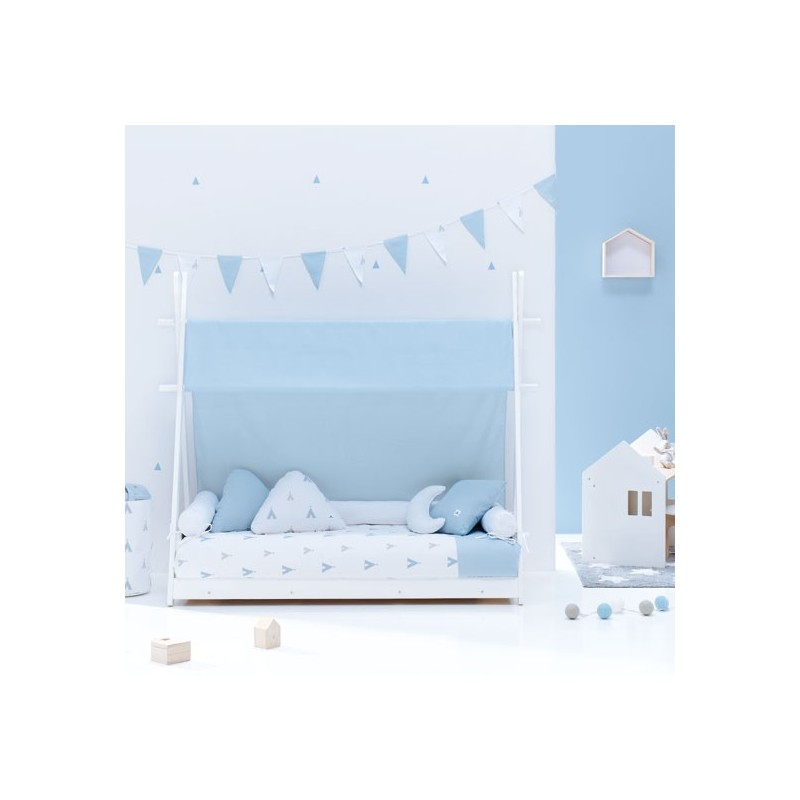 Cama Montessori Homy Alondra Indiana Blue