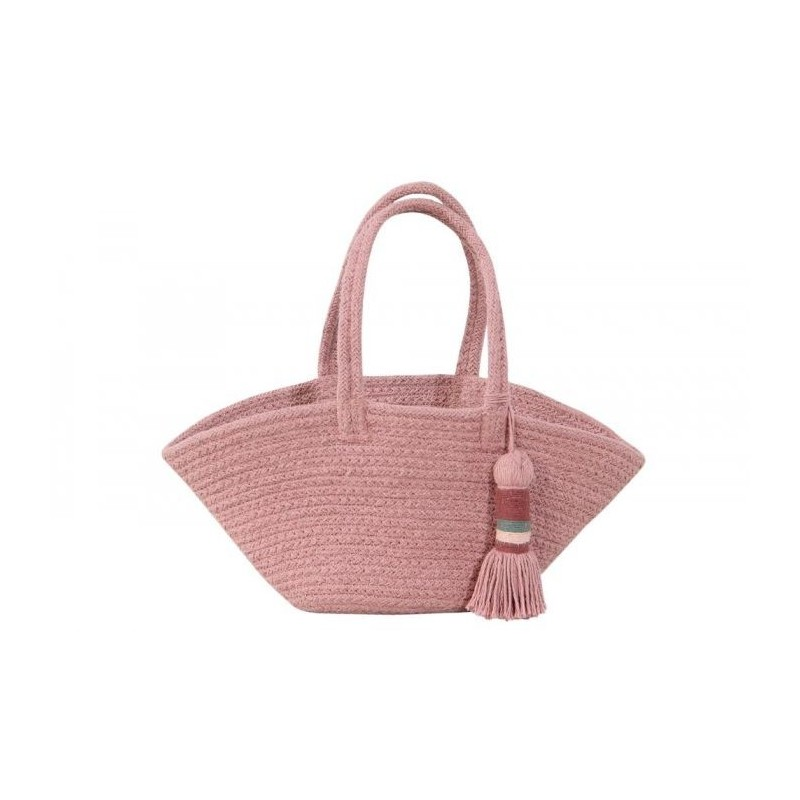 Cesta Cistell Ash Rose Small Lorena Canals
