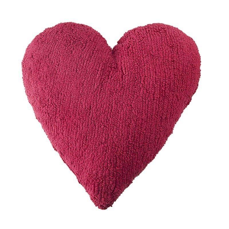 Cojín Lavable Heart Fuchsia Lorena Canals