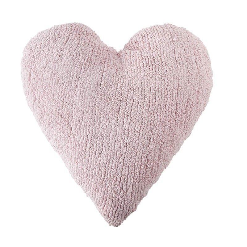 Cojín Lavable Heart Pink Lorena Canals