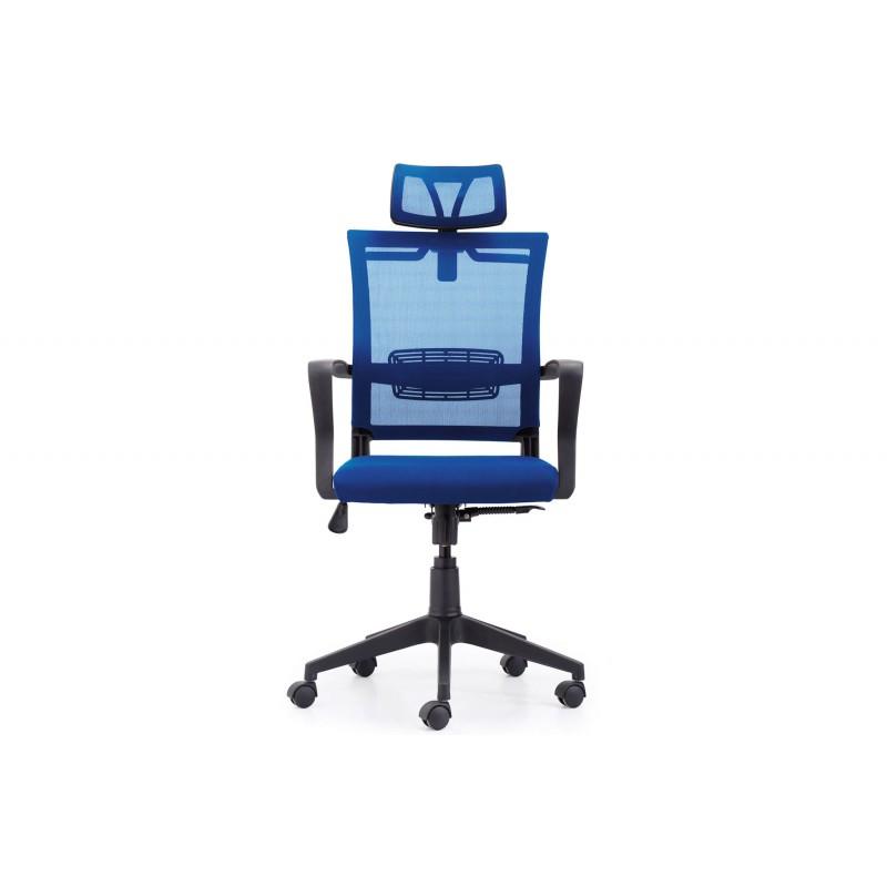 Sillón Giratorio Winner Transpirable Azul