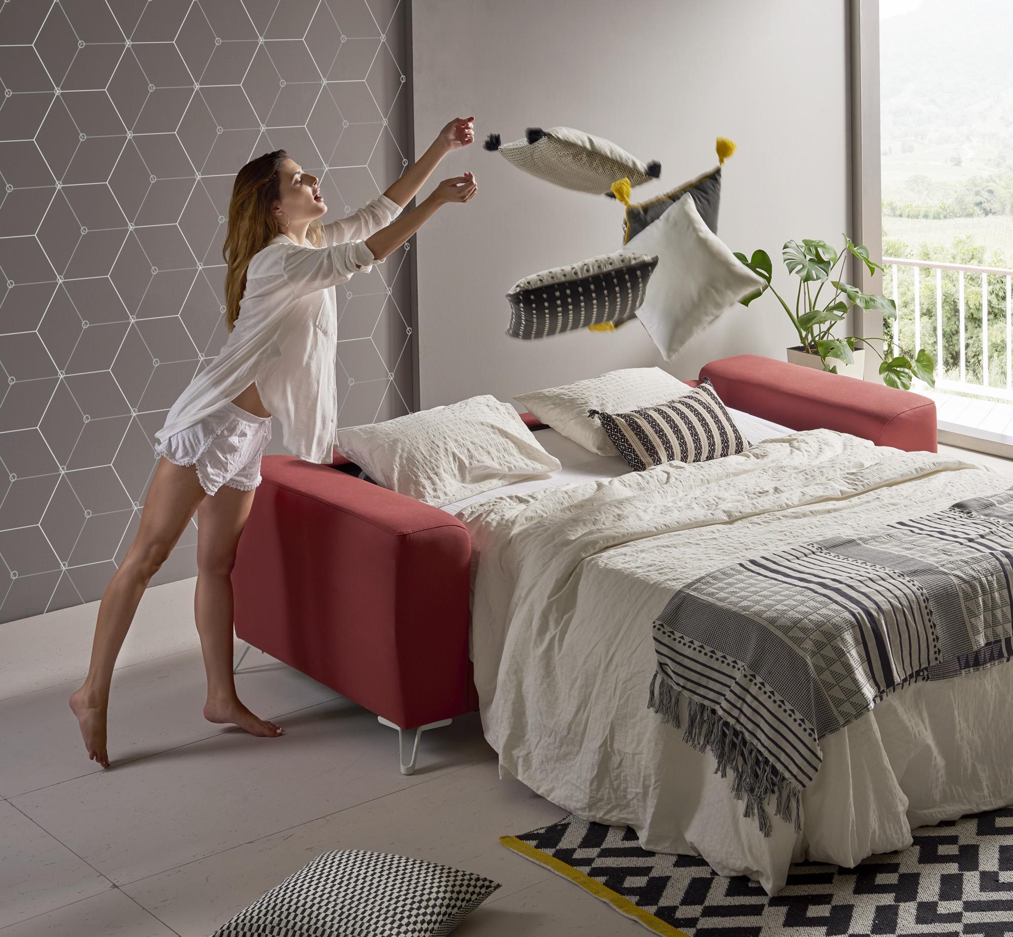 Sofá cama barato desplegable modelo Colonia